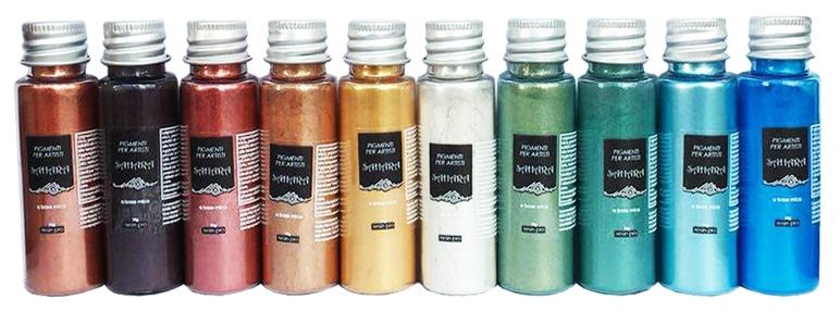 6 formas de colorear la resina transparente