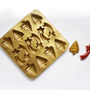 Moldes navideños de silicona