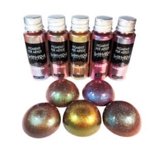 Nuevos pigmentos Sahara Camaleón de Resin Pro