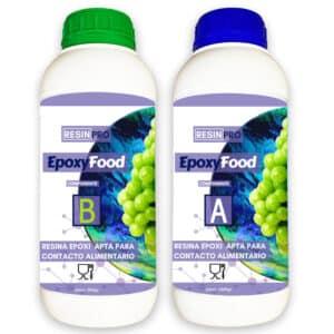 Epoxyfood resina apta para contacto alimentario de Resin Pro