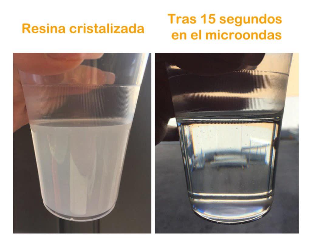 "La ""resina cristalizada"""