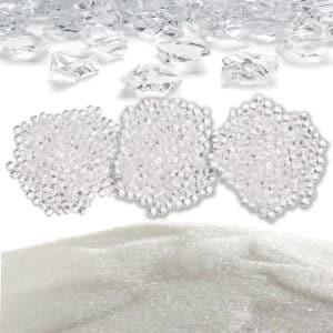 Áridos, cristales y esferas