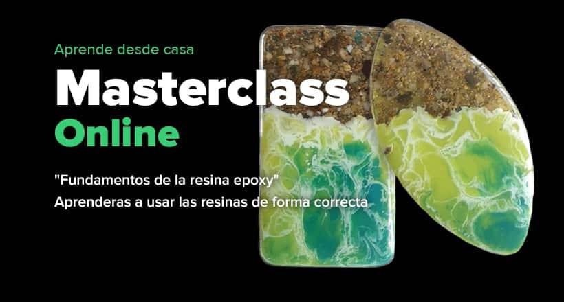 Masterclass online - Fundamentos de la resina epoxy